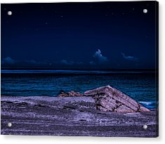 Beach Night Acrylic Print