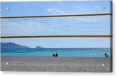 Beach Of Marseille Acrylic Print