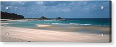 Beach Of Sables-dor-les-pins Near Cap Acrylic Print