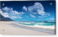 Beach Of South Africa  Acrylic Print