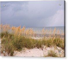 Beach On West Ship Island Acrylic Print