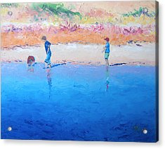 Saturday Afternoon At The Beach Acrylic Print