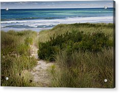 Beach Path Acrylic Print by Bill Wakeley