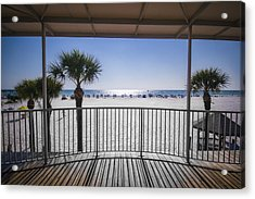 Beach Patio Acrylic Print