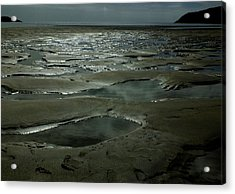 Beach Pools Acrylic Print by Phil Darby