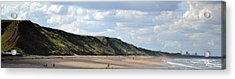 Acrylic Print featuring the photograph Beach - Saltburn Hills - Uk by Scott Lyons