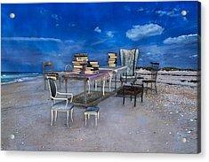 Beach Scholar  Acrylic Print