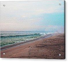 Beach Sentry Acrylic Print