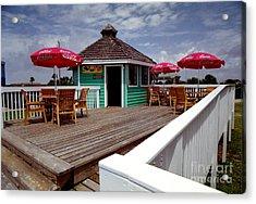 Acrylic Print featuring the photograph Beach Shop by Tom Brickhouse