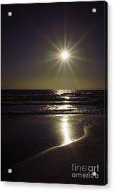 Beach Sun 2 Acrylic Print by Walt Foegelle