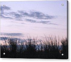 Acrylic Print featuring the photograph Beach Sunrise 1 by Melissa Stoudt