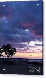 Beach Sunset Acrylic Print by Karl Voss