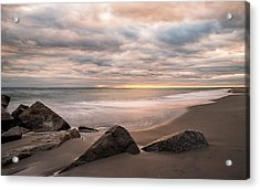 Acrylic Print featuring the photograph Beach Therapy by Anthony Fields