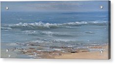 Beach Time Acrylic Print by Mar Evers