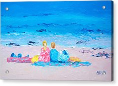 Beach Vacation Acrylic Print