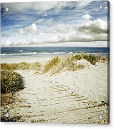 Beach View Acrylic Print