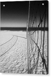 Beach Volleyball Net Acrylic Print