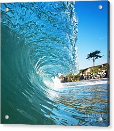 Beach Wave Acrylic Print