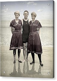 Beach Wear Fashion 1910 Acrylic Print