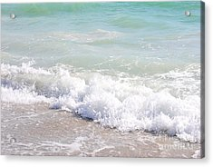 Acrylic Print featuring the photograph Surf And Sand by Margie Amberge