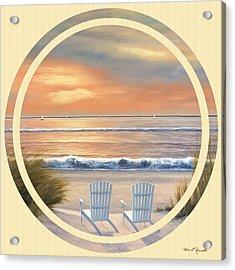 Beach World Acrylic Print by Diane Romanello