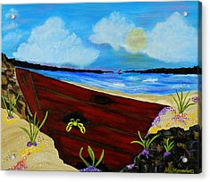 Beached Acrylic Print