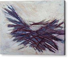 Beached Reeds Acrylic Print