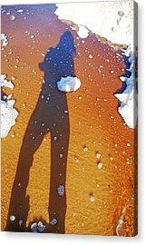 Acrylic Print featuring the photograph Beachscape by Ankya Klay