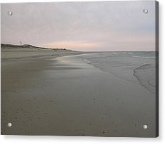 Beachscape Acrylic Print by David Klaboe