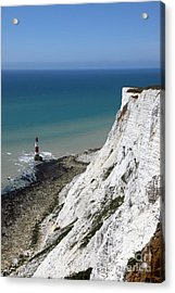 Cliffs At Beachy Head East Sussex Acrylic Print by James Brunker