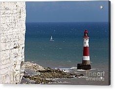 Beachy Head Lighthouse Acrylic Print by James Brunker