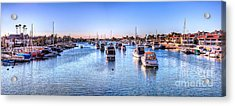 Acrylic Print featuring the photograph Beacon Bay by Jim Carrell