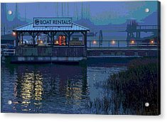 Acrylic Print featuring the painting Beacon For Fun Times - Art by Laura Ragland