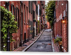 Beacon Hill Boston Acrylic Print by Carol Japp