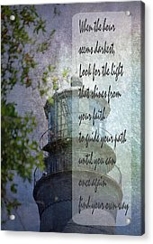 Beacon Of Hope Inspiration Acrylic Print