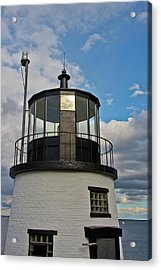 Beacon, Owl's Head Lighthouse, Owl's Acrylic Print