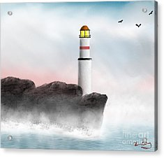 Beacon Acrylic Print by Thomas OGrady