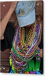 Bead Lady Of The Quarter Acrylic Print