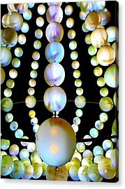 Beads Acrylic Print by Randall Weidner