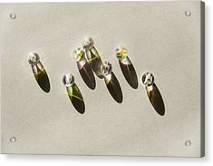 Beads Acrylic Print by Svetlana Sewell