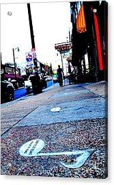 Beale Street Strolling Acrylic Print