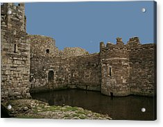 Acrylic Print featuring the photograph Beamaris Castle by Christopher Rowlands