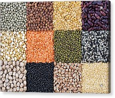 Beans And Pulses Acrylic Print by Tim Gainey