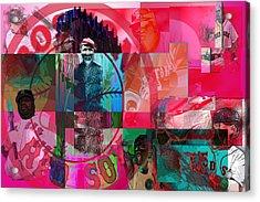 Bean Town Acrylic Print by Jimi Bush