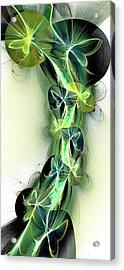 Beanstalk Acrylic Print by Anastasiya Malakhova