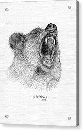 Bear Acrylic Print