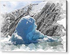 Bear Berg Acrylic Print