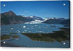 Bear Glacier Seward Alaska Acrylic Print