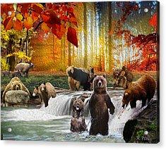 Bear Heaven Acrylic Print