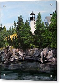 Bear Island Lighthouse Acrylic Print